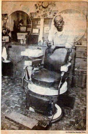 Barber Zanesville Ohio : John C. Burke, Citizen, Soldier and Civil Rights Activist