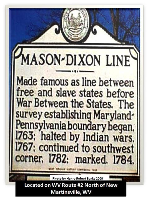 slavery and mason dixon line essay Start studying english - 1127 learn vocabulary _____, _____, _____, and _____ are the four ways essays may be classified expository narrative abolitionist opposed to slavery jefferson davis confederate president mason-dixon line dividing line praise be to god laus.